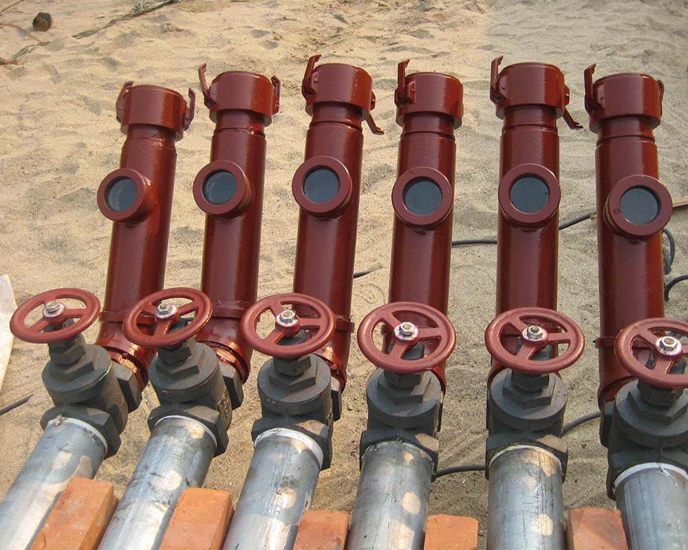 Hệ thống đầu nhập xăng dầu